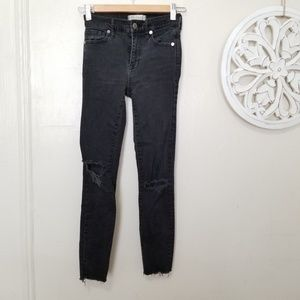 Madewell size 24 high riser skinny jeans